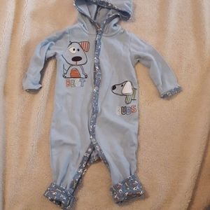Boys sz 6-9mths Jumping Beans puppy outfit